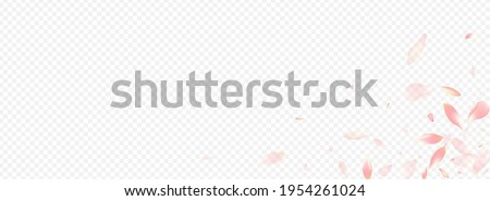 white floral vector panoramic