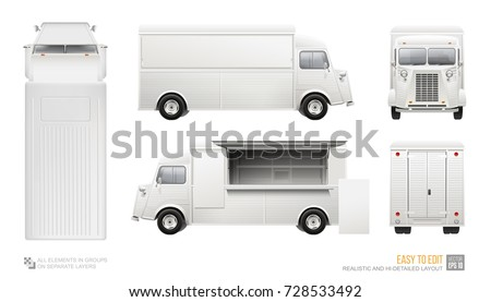 vector food truck download free vector art stock graphics images