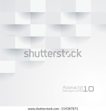 White geometric texture. Vector background