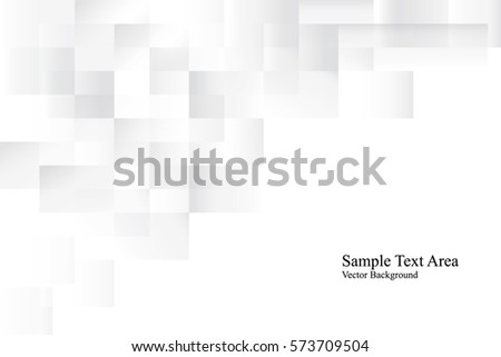 White geometric texture. Vector background #573709504