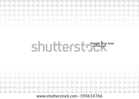 White geometric texture. Vector background #590614766