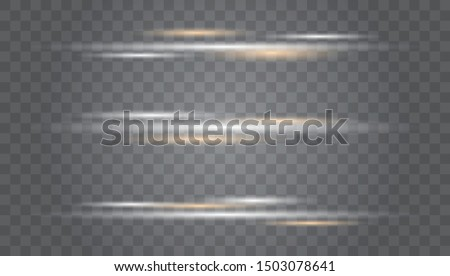 White glowing light explodes on a transparent background. Transparent Lens Flare. Futuristic Vibrant Glow for Game Design, Banner, Frame, Button