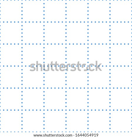 white graph paper with blue dot