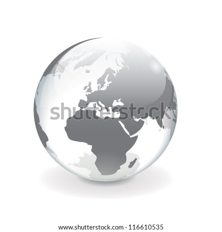 white gray transparent vector