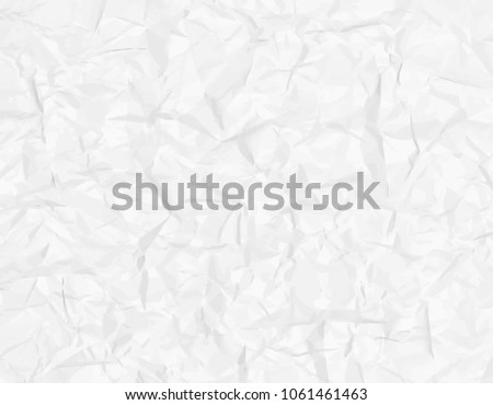 White Gray Wrinkled Paper Texture