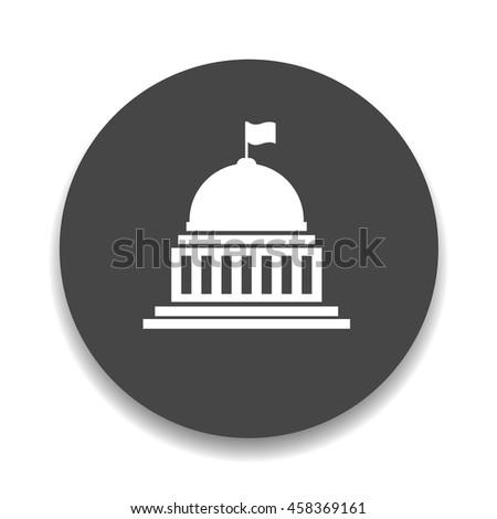 white house, congress icon