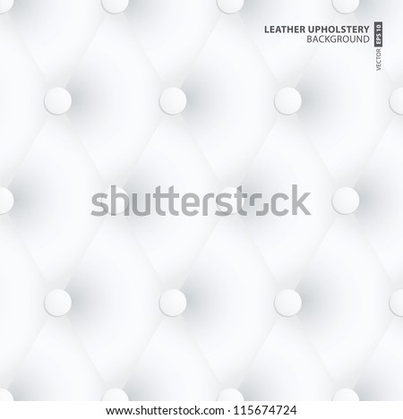 White Leather Upholstery Background design
