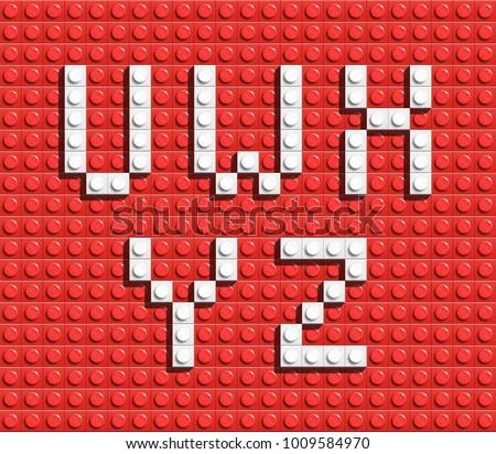 Lego Alphabet - Download Free Vector Art, Stock Graphics & Images