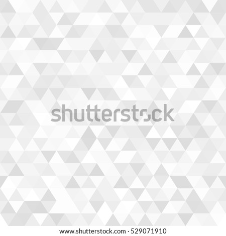 White Light Triangular Seamless Texture. EPS10 Vector #529071910
