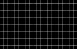 White line pattern table black background. The grid wallpaper retro. Modern Vector illustration surface. Page blank note texture.