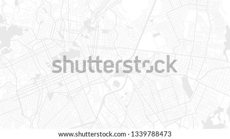 white map city curtiba. digital art background