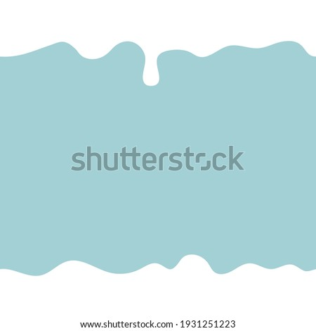 White milk product flowing. Seamless pattern for your design. Vector illustration