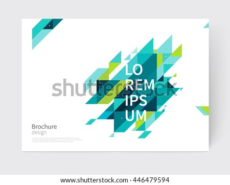 stock-vector-white-modern-business-brochure-leaflet-flyer-cover-template-abstract-diagonal-background-blue