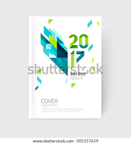 white modern business brochure