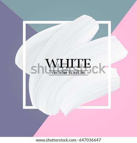 white paint brush texture on