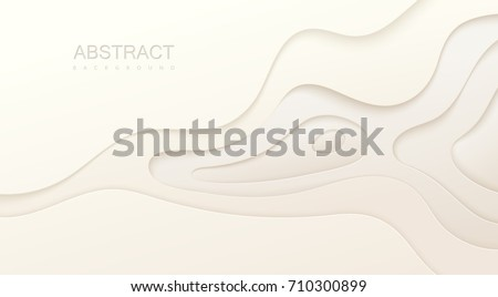 white paper topography relief