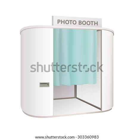 Shutterstock white photo booth