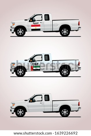 white pickup truck for jipping