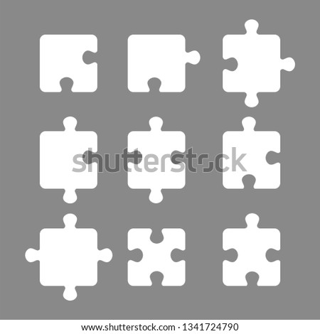 white piece jigsaw