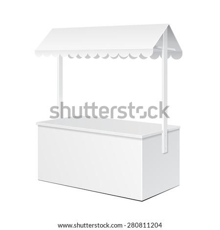 white pos poi blank empty