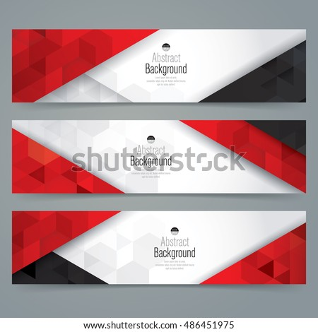 stock-vector-white-red-and-black-abstract-background-banner-collection-banner-design