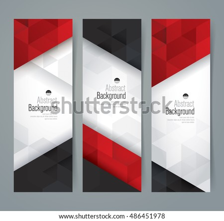 white  red and black abstract