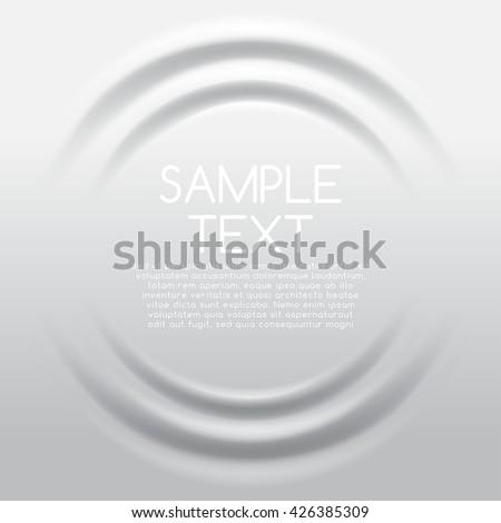 white rippled background