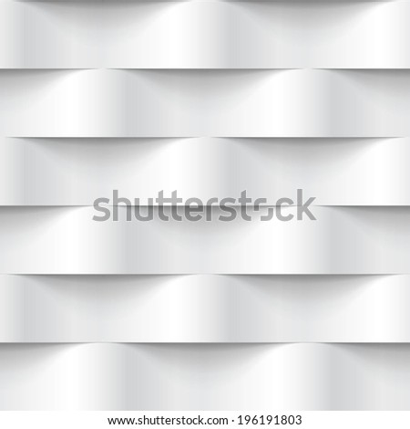 stock vector white seamless texture wavy background interior wall decoration d vector interior wall panel 196191803 - Каталог — Фотообои «3D Текстуры»