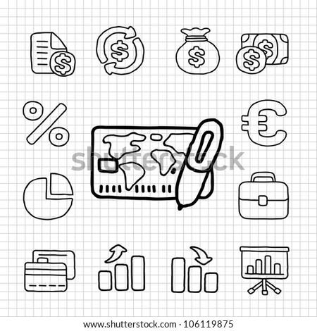 White Series | Financial,Banking icon set