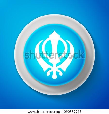 white sikhism religion khanda