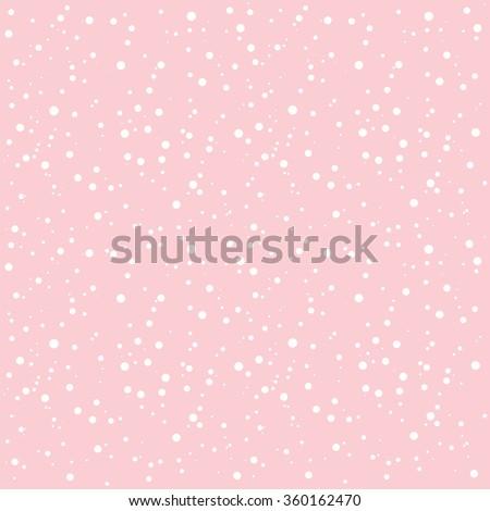 white snow on pink rose quartz
