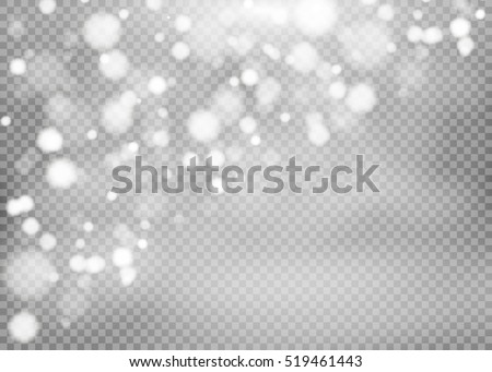 White sparks and stars glitter special light effect. Sparkling magic dust particles.dust