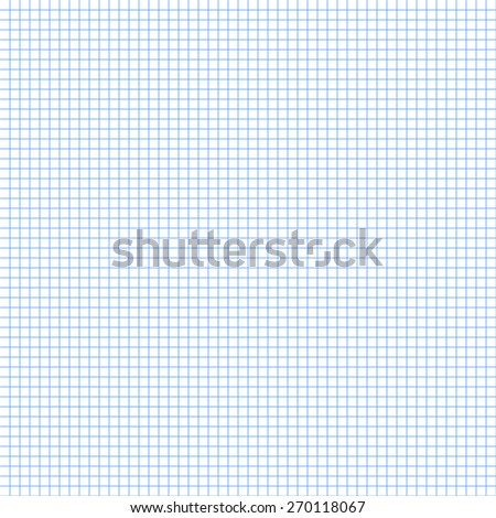 White Squared Graph Paper Seamless Sheet Texture Vector