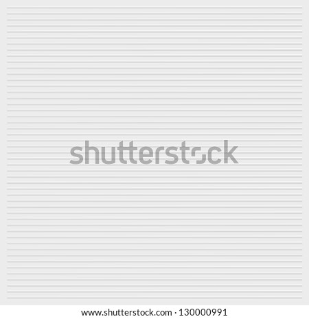 White stripes embossed background texture vector illustration