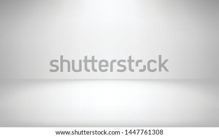 white studio background with
