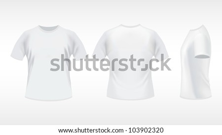vector blank t shirt template 2 download free vector art stock
