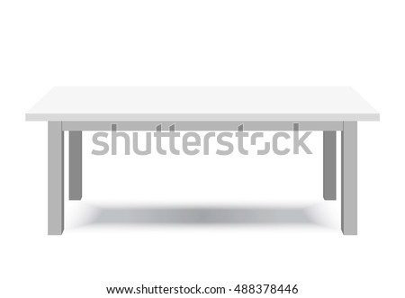 white table   platform   stand
