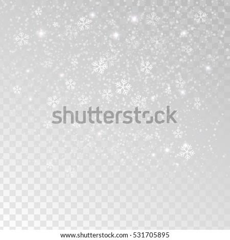 white tender snowflakes  snow