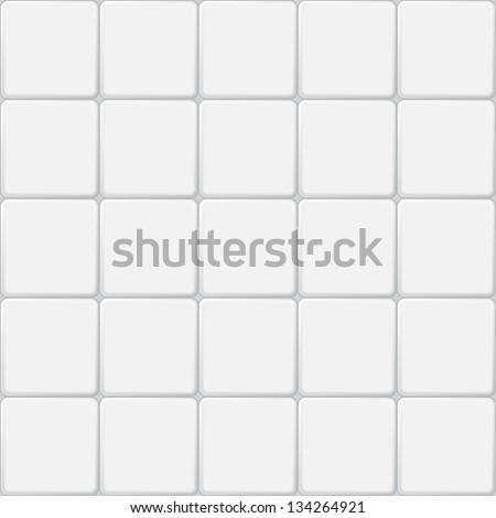 white tile seamless pattern