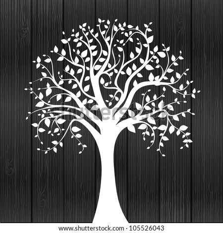 white tree    individual