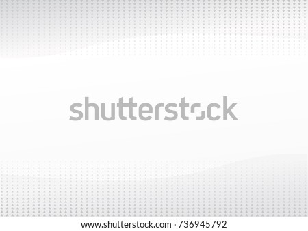 white triangle halftone abstract background vector #736945792