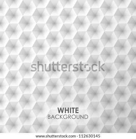 White vector geometric background