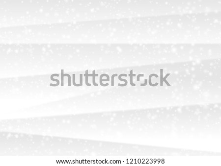 White winter Christmas snow abstract background. Vector design