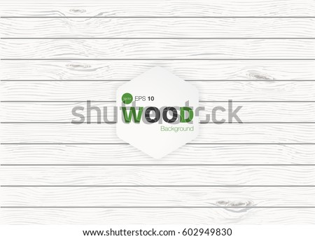 white wood texture, vector trace, old painted pine planks