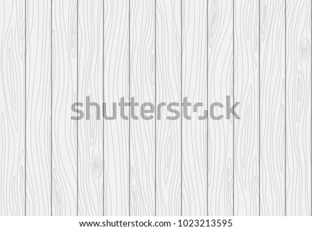 White Wooden Plank Texture Vector Wood Background