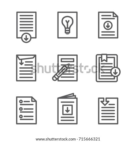 Whitepaper - Download Icon Button Set