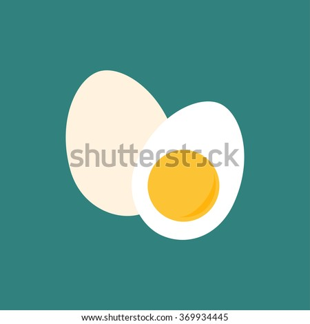 whole egg and half of egg