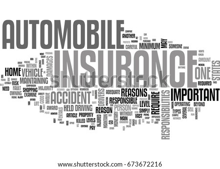 why is auto insurance important