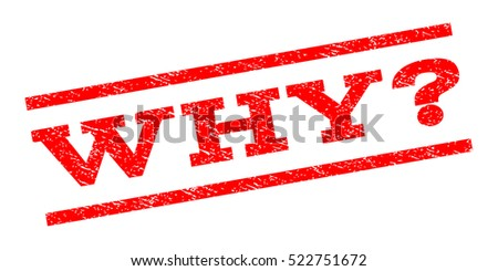 why question watermark stamp