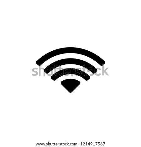 wi fi signal icon. One of simple collection icons for websites, web design, mobile app
